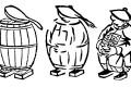 Officials and Rice Barrels (1911). Photo: Handout