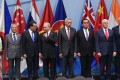 East Asia Summit leaders during their meeting in Singapore. Photo: EPA