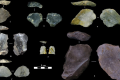 So-called Levallois cores discovered in China. The ancient tools date back to between 80,000 and 170,000 years ago. Photo: Marwick et al