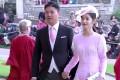 JD.com chairman Richard Liu Qiangdong and wife Zhang Zetian at Princess Eugenie's wedding. Photo: youtube