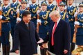 Xi meets Trump in Beijing in 2017. Are we be about to witness another deal? Photo: TNS