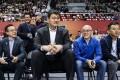 Yao Ming and Joe Tsai sit courtside for the Pac-12 China Game. Photos: Ali Sports