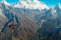 Yu Yin's career in the air culminated in a spectacular flight in the Himalayas. Photo: Handout