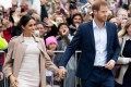 Prince Harry and his wife Meghan, the Duchess of Sussex. Photo: AFP