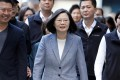 President Tsai Ing-wen is unlikely to shift her policy towards mainland China. Photo: Reuters