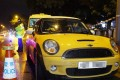 Wong Siew Fing, 47, and her daughter, Lily Khaw Li Ling, 17, were found dead in this yellow Mini Cooper. Photo: Edmond So.