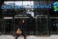 Standard Chartered's underlying profit in the third quarter beat analysts' expectations after the bank managed to squeeze out more growth from Asian markets. Photo: EPA