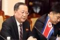 North Korean Foreign Minister Ri Yong-ho in Hanoi, Vietnam. Photo: EPA