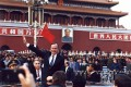 US president George H.W. Bush on a working visit to Beijing in February 1989. Photo: china-embassy.org