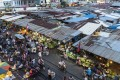 The food night market outside Russian Market in Phnom Penh. Photo: Enric Catala