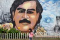 Picture taken at the Pablo Escobar neighbourhood in Medellin, Colombia. Photo: AFP