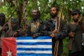Indonesia has been fighting a low-level insurgency led by the separatist Free Papua Movement for decades. Photo: AFP