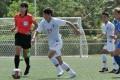 Hong Kong goalscorer Kwong Wing-yan in action against Mongolia in Guam. Photo: Handout