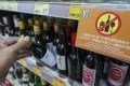 The new law requires retailers to display a sign stating that alcohol must not be supplied to minors. Photo: Edward Wong