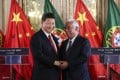 China's President Xi Jinping and Portugal's Prime Minister Antonio Costa oversaw the signing of a memorandum of understanding on the Belt and Road Initiative. Photo: EPA-EFE