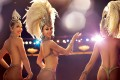 Showgirls in the Jubilee show. Vegas showgirl extravaganzas have become a thing of the past.