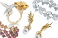 Precious jewellery pieces from maisons such as (from left to right) Bulgari, Boucheron, Tiffany, Tasaki will be exhibited at DFS's 'Master of Time X' exhibition.