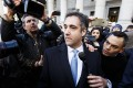 Michael Cohen leaves federal court after pleading guilty to charges related to lying to Congress in New York on November 29, 2018. Photo: EPA