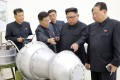 """Nobody was surprised when North Korea's ruling party announced that Kim Jong-un (seen in a file photo) had """"supervised a new ultra-modern tactical weapon test"""". Photo: AP"""