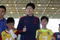Park Ji-sung is the head of the Korea Football Association's youth strategy department. Photo: Edward Wong