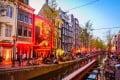 Amsterdam's red light district. Photo: Shutterstock