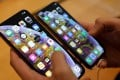 An iPhone XS (right) and iPhone XS Max. A maxed-out iPhone XS Max can sell for as much as US$1,450. Photo: Reuters