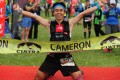 Daved Simpat winning the Cameron Ultra-Trail in Malaysia this year. Photo: Handout