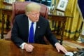 US President Donald Trump said he had not yet spoken to China's President Xi Jinping about the case against Sabrina Meng Wanzhou. Photo: Reuters