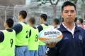 Yip Hiu-ping, assistant officer at Pik Uk Correctional Institution, said the touch rugby programme, run in conjunction with the HKRU, has been a success. Photo: Edmond So