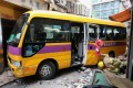 Two bus accidents in the span of 24 hours – one of which killed four people and injured 11, and a second which injured nine, seven of them schoolchildren – have drawn renewed attention to road safety in Hong Kong. Photo: Felix Wong