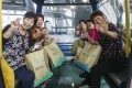 Visitors enjoy the Ngong Ping 360 cable car on Lantau Island. Photo: Xiaomei Chen