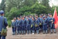 A group of visitors to the Jinggang mountains in Jiangxi province, considered the birthplace of the People's Liberation Army on July 13, 2018. Many tours make it mandatory for visitors to dress up in Red Army uniforms. Photo: SCMP/ Josephine Ma