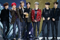 K-pop group BTS receive Album of the Year for their album Love Yourself Tear. Photo: Mnet Asian Music Awards