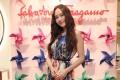 Korean pop star Jessica Jung joins Ferragamo's pop-up store celebration.
