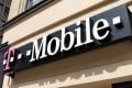 Signage for a T-Mobile store is pictured in downtown Los Angeles, California. Photo: Reuters