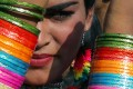 People during an LGBTQI parade in Bangalore. Photo: EPA