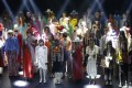 Gucci paid tribute to the rich story behind Paris' Théâtre Le Palace with a flamboyant collection.