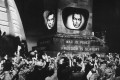 A still from the 1956 film adaptation of Nineteen Eighty-Four, based on George Orwell's dystopian novel.