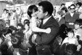 Muhammad Ali visits the Kai Tak East Refugee Transit Centre on December 22, 1979. Picture: SCMP