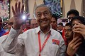 Highlight of the year: Mahathir's election. Photo: AFP