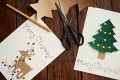 File phot of a handmade Christmas cards. Photo: Getty Images/iStockphoto