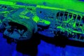 A laser survey by the US National Oceanic and Atmospheric (NOAA) produced high-resolution images of German submarine U-576 that sank off the coast of North Carolina. Photo: NOAA