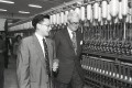 British Foreign Minister Douglas Hurd (right) touring a factory in Guangzhou in 1991. Photo: Handout