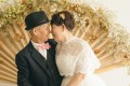 So Kan, 86, and wife Li Hok-chun, 82, celebrate their 60th wedding anniversary. Photo: Jeff Ng
