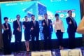 Nicole Kushner Meyer (third from left), sister of Jared Kushner, White House senior adviser and son-in-law of US President Donald Trump, was found to have promoted America's EB-5 investment visa programme in a presentation in Beijing in 2017. Photo: AFP