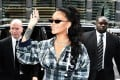 Singer and actress Rihanna is one of many celebrities who are frequently seen in public flanked by bodyguards. Photo: Shutterstock