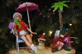 A Barbie prototype relaxes by the beach. The iconic doll is 60 this year, and she is wearing well. Photo: AFP