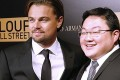 Leonardo DiCaprio (left) with Low Taek Jho, the Malaysian businessman embroiled in the 1MDB scandal. Photo: AFP