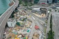 Aerial view of Hung Hom MTR station, of the Sha Tin to Central Link (SCL). Photo: Winson Wong