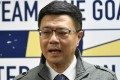Cho Jung-tai has been elected chairman of the ruling Democratic Progressive Party. Photo: AFP